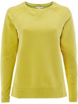 White Stuff Dreamy Days Brushed Sweatshirt, Lichen Green
