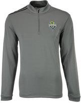 adidas Men's Seattle Sounders Fc 3-Stripe Quarter-Zip Pullover