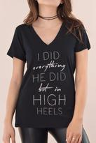 Signorelli In High Heels Tee