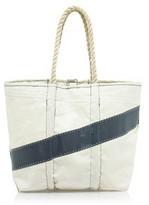Angela Adams® and Sea Bags for J.Crew diagonal-stripe sail bag