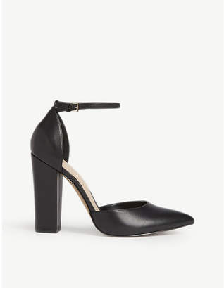 Balenciaga Heeled leather mules