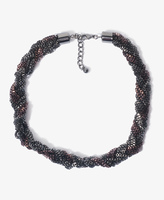 Forever 21 Braided Box Chain Necklace