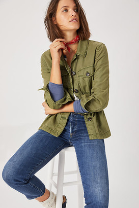 Sanctuary Every Which Way Utility Jacket By in Green Size 1 X