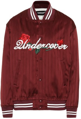 Undercover Silk bomber jacket
