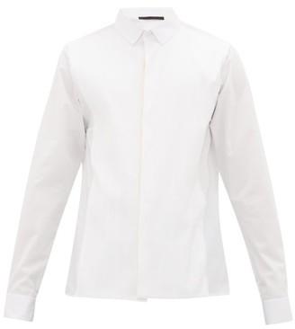 Haider Ackermann Striped Cotton-poplin Shirt - White