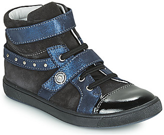 Catimini CLARGS girls's Shoes (High-top Trainers) in Black