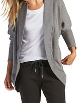 UGG Fremont Double-Knit Fleece Wrap Cardigan