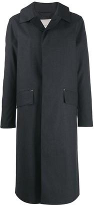 MACKINTOSH Grey Bonded Cotton Riding Coat | GR-101/W