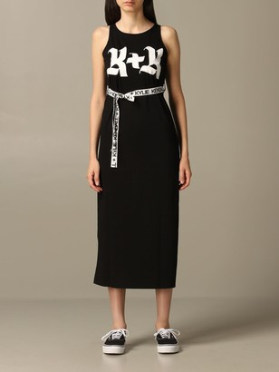 KENDALL + KYLIE Dress Dress With Belt And Logo