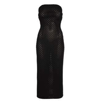 Jiri Kalfar Black Laser Cut Dress