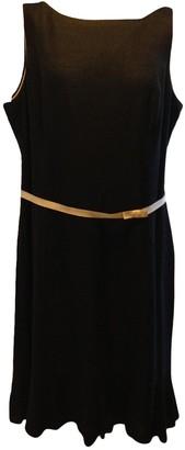 Hobbs Black Linen Dress for Women