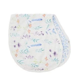 Aden Anais aden + anais White Label Silky Soft Bib/Burp Cloth Watercolour Garden