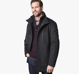 Johnston & Murphy Diagonal Wool Coat