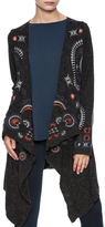 Monoreno Mono Reno Embroidered Cardigan