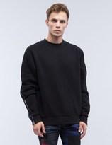 Mostly Heard Rarely Seen Contrast Splice Crewneck Sweatshirt
