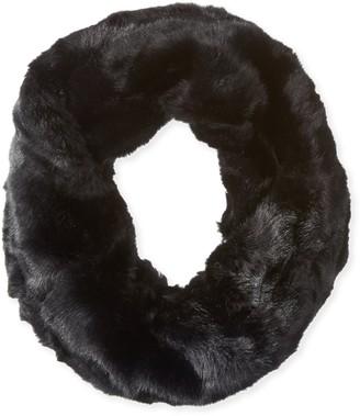La Fiorentina Women's Faux Fur Infinity Muffler