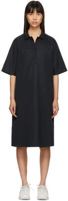 Jil Sander Navy Navy Short Sleeve Shirt Dress