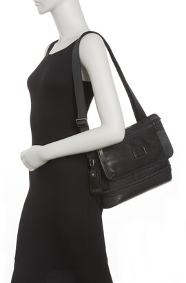 Tumi Glenview Leather Crossbody Messenger Bag
