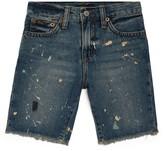 Ralph Lauren Kids Distressed Denim Shorts (5-7 Years)