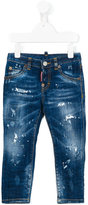 DSQUARED2 straight jeans - kids - Cotton/Spandex/Elastane - 10 yrs