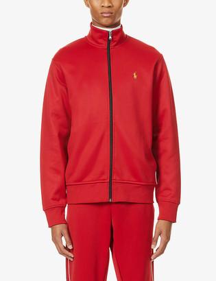 Polo Ralph Lauren Logo zip-up stretch-jersey jacket