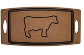Epicurean BBQ Board - Etched Cow w/Juice Groove