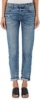 Current/Elliott Women's The Selvedge Taper Boyfriend Jeans