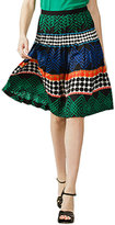 TRINA TURK Pleated Orphist Skirt