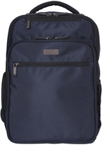 """Kenneth Cole Reaction Double Compartment EZ-Scan Anti-Theft RFID 16"""" Computer Business Backpack"""