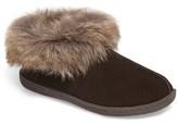 Woolrich Women's Autumn Ridge Ii Faux Fur Slipper Bootie