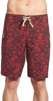 Patagonia Men's Regular Fit Wave Print Board Shorts