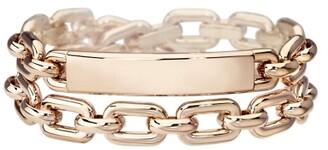 Ralph Lauren Rose Gold ID Bracelet