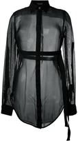 Marcelo Burlon County of Milan sheer shirt