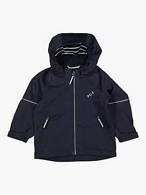 Polarn O. Pyret Baby Shell Coat, Dark Blue