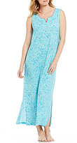 Nottibianche TEMPtations Abstract Paisley Jersey Maxi Lounge Dress