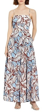 Nicholas Kerala Floral Print Maxi Dress