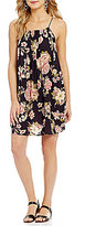 Billabong Come Along Floral-Printed Swing Dress