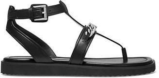 MICHAEL Michael Kors Farrow Leather Thong Sandals