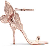 Sophia Webster Chiara Metallic Embroidered Leather Sandals - IT35