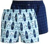 Jockey 2 Pack Boxer Shorts Deep Ocean