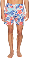 Hartford Elastic Waistband Swim Trunks