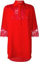 Ermanno Scervino lace insert shirt