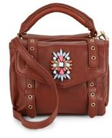 Cynthia Rowley Posy Embellished Leather Satchel