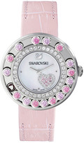 Swarovski Lovely Crystals Heart Watch