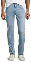 Nudie Jeans Thin Finn Broken Pale Slim Jeans, Light Blue
