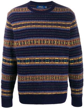Ralph Lauren fair isle knit jumper