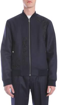 Versace Wool Cloth Bomber Jacket