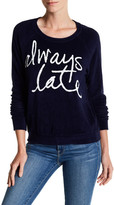 Sundry Always Late Pullover
