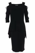 Joseph Ribkoff Rhinestone Accent Dress