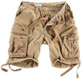 Surplus Men's Airborne Vintage Shorts Washed Beige size 7XL